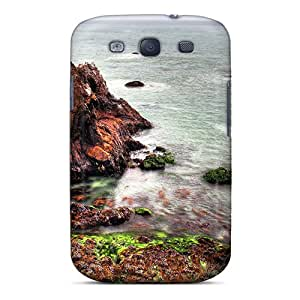 Top Quality Rugged Rocky Seashore Hdr Case Cover For Galaxy S3