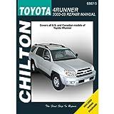 Toyota 4runner 2003 2009 haynes repair manual haynes chilton toyota 4runner 2003 thru 2009 repair manual 68615 fandeluxe Gallery