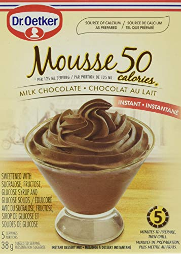 Dr Oetker Mousse Light Chocolate 13 oz