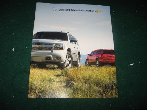 2011 Chevy Tahoe and Suburban Sales Brochure; LS; LT; LTZ; Tahoe Hybrid