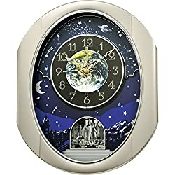 Rhythm Clocks Peaceful Cosmos II Magic Motion Clock