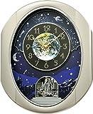 """Rhythm Clocks """"Peaceful Cosmos II"""" Magic Motion Clock For Sale"""