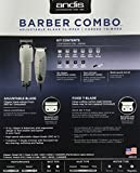 Andis Barber Combo-Powerful Clipper and Trimmer Combo Kit