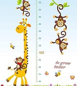 ملصقات حائط لحيوانات جميلة لغرفة الأطفال ديكور منزلي للأطفال من DIY ملصق حائط لغرفة نوم الأطفال ديكور المنزل مم