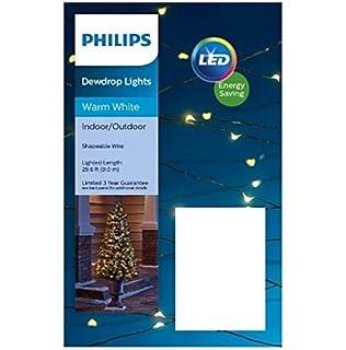 Phillips Christmas Lights.Amazon Com Phillips Philips 90ct Christmas Led Dewdrop