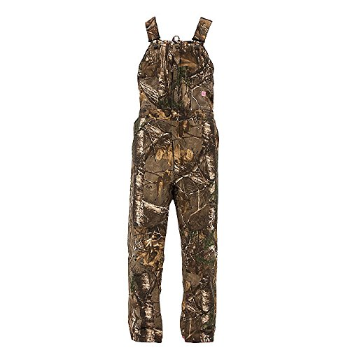 Berne Apparel GWB515 Women's INS Bib Overall Quilt Lined Realtree Xtra X-Large