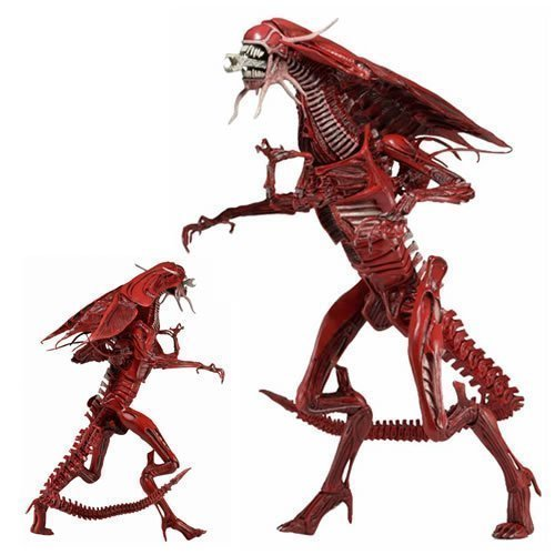 Aliens Figures - Xenomorph Genocide Red Queen Ultra Deluxe Boxed Action Figure by Unknown