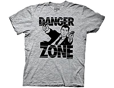 Ripple Junction Archer Danger Zone Adult T-shirt