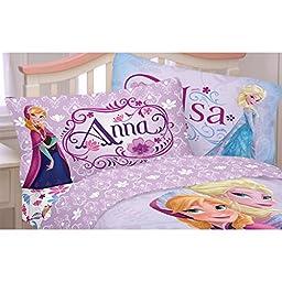 Disney Frozen Celebrate Love Sheet Set, Twin