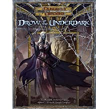 Drow Of The Underdark: A D&D Supplement
