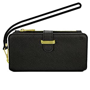 Caseco Rodeo Dr. Clutch Wallet Case with RFID Blocking - iPhone 8 Plus - Black