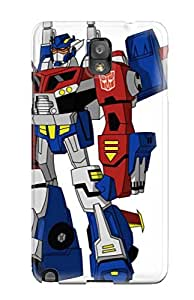Snap-on Case Designed For Galaxy Note 3- Team Fortress Transformers 2 Arcee by lolosakes