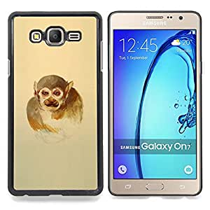 SKCASE Center / Funda Carcasa protectora - Monkey Man;;;;;;;; - Samsung Galaxy On7 O7