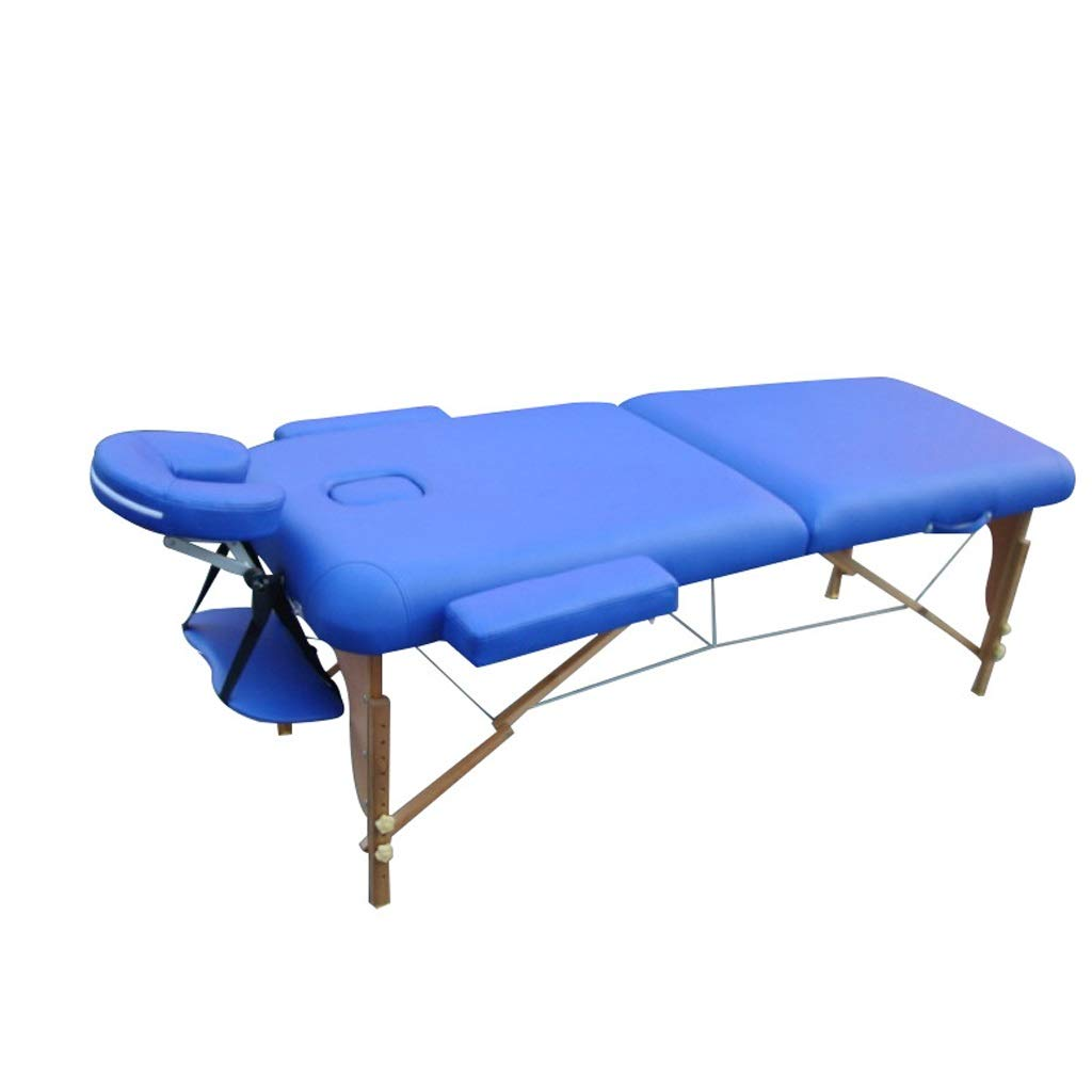 Folding Massage Table Professional Massage Bed 3 Fold with Additional Accessories Treatment by ZP massage