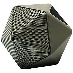 Binauric Boom Boom - Design Bluetooth Konferenz Lautsprecher by Mathieu Lehanneur [Sprachführung | 3D-Mikrofon | Aufnahmegerät | 15 Stunden Musik-Wiedergabe   kostenfreie App] 3