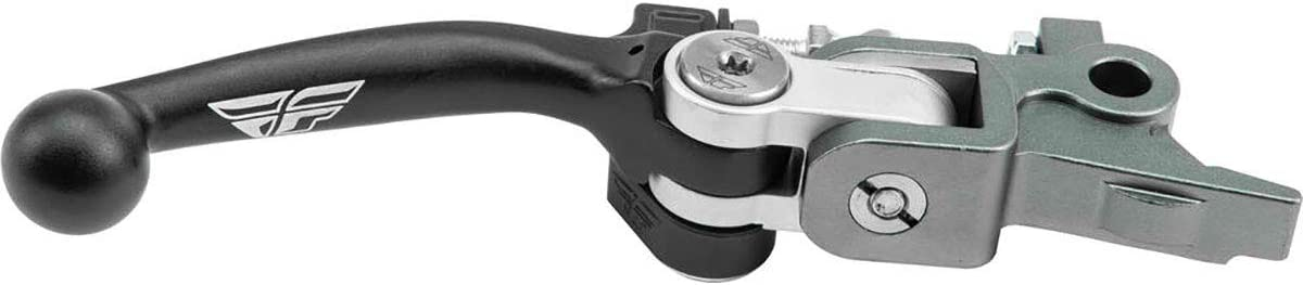Fly Racing Tri Pivot Off-Road Motorcycle Brake Lever Compatible for Husqvarna Black//One Size