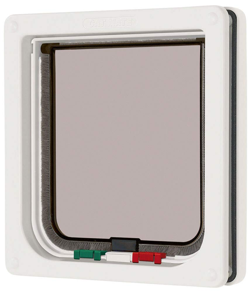 Cat Mate 4 Way Locking Cat Flap, White product image