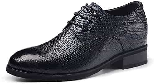 dfc2e3ca3cd502 Gentleman leisure Height Increasing Elevator Shoes Leather Oxfords Derby  Shoes