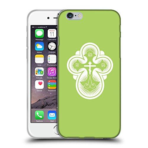 """GoGoMobile Coque de Protection TPU Silicone Case pour // Q09300628 Croix chrétienne 40 poule // Apple iPhone 6 PLUS 5.5"""""""