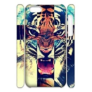 Tiger Roar Cross 3D-Printed ZLB515402 Personalized 3D Phone Case for Iphone 5C by mcsharks