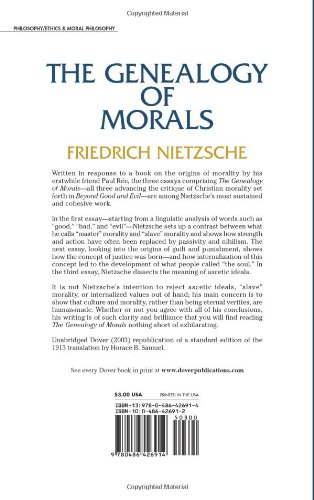 nietzsche first essay genealogy of morals summary In the first essay of his book on the genealogy of morality, friedrich nietzsche discusses the origins and the evolution of morality  looking at these writers helps us understand nietzsche's ideas on morality  nietzsches division of morality while complex and offering a variety of interpretations.