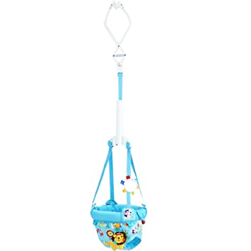 8a94d1093197 Amazon.com   KMMall Baby Bumper Jumper Einstein Door Jumper Bouncer ...