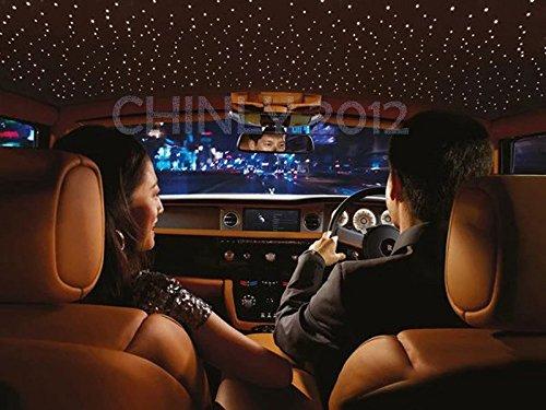 Car use DC12V 6W RGB LED Plastic Fiber Optic Star Ceiling Kit Light 100pcs 0.03in 6.5ft +18key Remote Optical Fiber Lights Engine by CHINLY (Image #8)