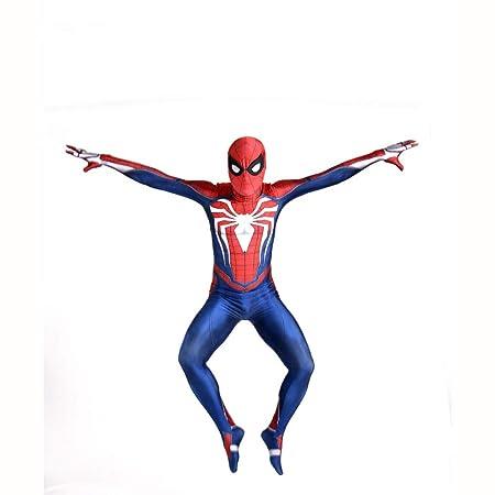 BLOIBFS Traje De Cosplay De Spiderman Niño, Adulto Disfraces Ropa ...