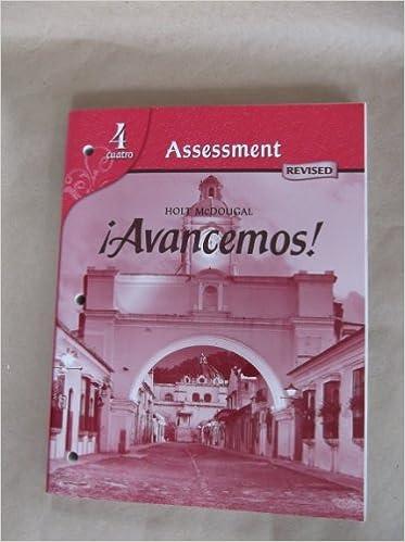 Avancemos assessment program level 4 holt mcdougal avancemos assessment program level 4 1st edition fandeluxe Choice Image