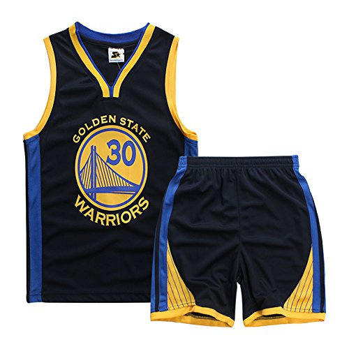 Zhongkeyi Kids Basketball Jersey & Shorts Youth Gift Set ()