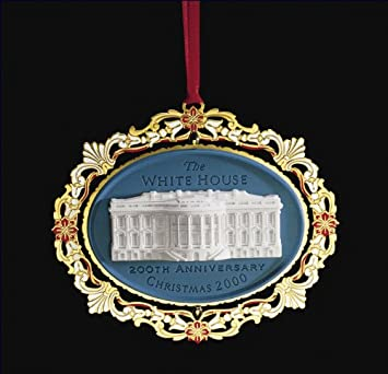 Amazon.com: 2000 the White House Historical Association Ornament ...