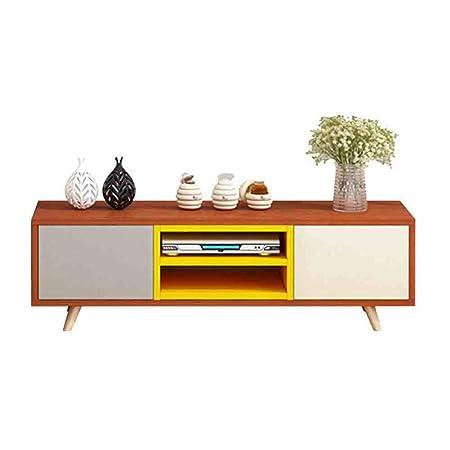 GODLOVEYOU Lowboard/estantería/Mueble de TV de Madera ...