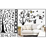 Alicemall Wall Sticker Adesivi da Parete Adesivo Murale Fiori Decorazione Fai da Te in PVC (Stile 10)