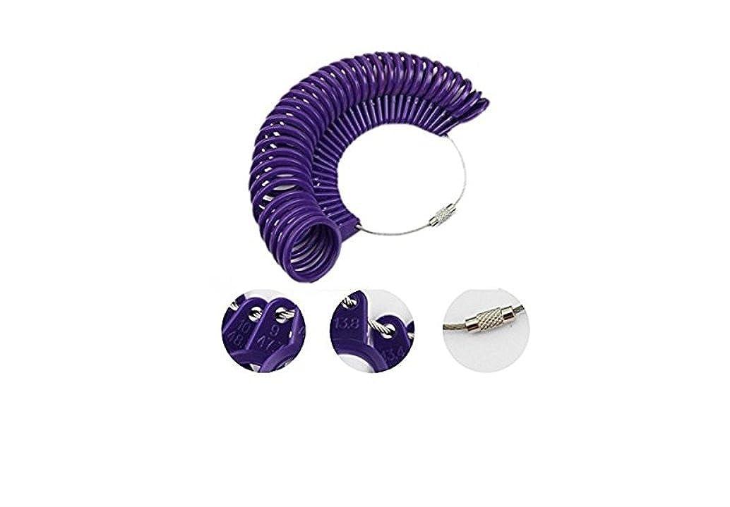 Esprit Shopping® Baguier Plastique Taille Française Mesure Taille Doigt Créateur Bijoux ESB02