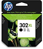 Original HP 302 x l Black Ink Cartridge for HP 3830 3832 4650 1110 2130 3630 4520 F6u68ae Capacity 480 Pages