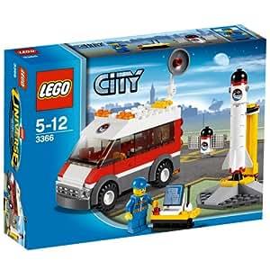 LEGO City 3366 - Plataforma de Lanzamiento de Satélite