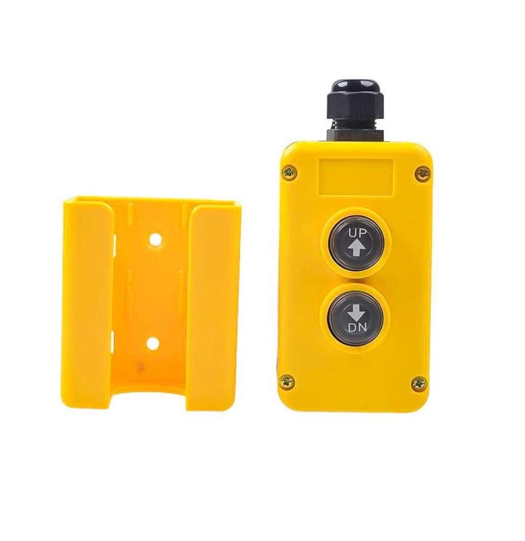 Adoner New 3 Wire Dump Trailer Remote Control Switch for Single-Acting Hydraulic Pumps