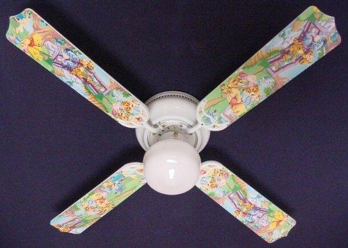 Ceiling Fan Designers 42FAN-DIS-WPPET Winnie Pooh Piglet Eeyore Tigger Ceiling Fan 42 in.
