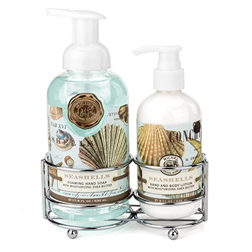 Michel Design Works Handcare Caddy, Seashells
