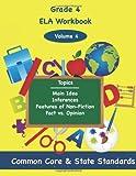 Fourth Grade ELA Volume 4, Todd Deluca, 1494860066