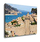 Ashley Canvas, View On The Historic Part Of Tossa De Mar Costa Brava Spain, 24x30