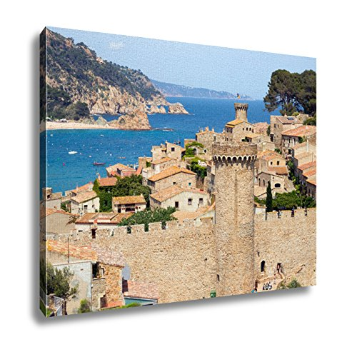 Ashley Canvas, View On The Historic Part Of Tossa De Mar Costa Brava Spain, 24x30 by Ashley Canvas