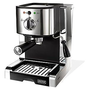 BEEM Germany Espresso Perfect Ultimate 20 bar, Espresso-Siebträgermaschine...