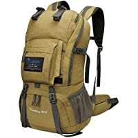 Mountaintop 40 Liter Hiking Backpack with Rain Cover for...
