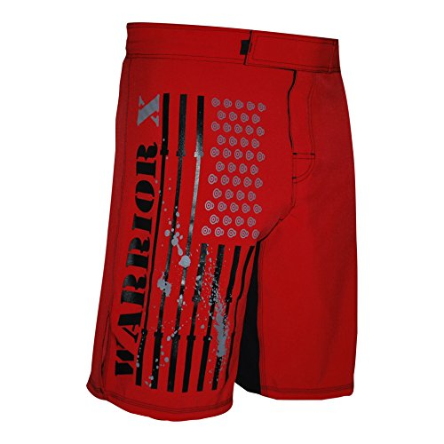 WOD OCR MMA Shorts (RED, 34)