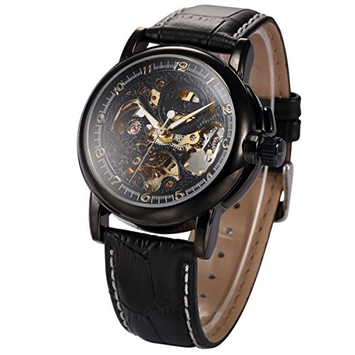 Ks KS036-US2 Automatic Mechanical Analog Waterproof Men Stainless Steel Case Classic Watch