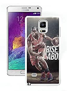 Samsung Note 4 Case,2015 Hot New Fashion Stylish LA Clippers Chris Paul 2 White Case Cover for Samsung Note 4