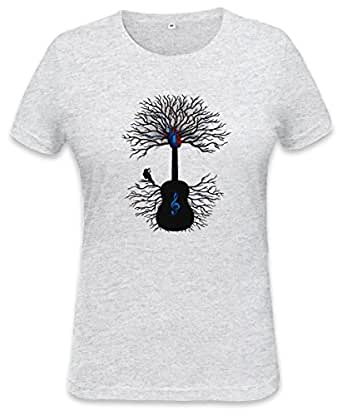 Rhythms of the Heart Surreal Guitar Womens T-shirt XX-Large