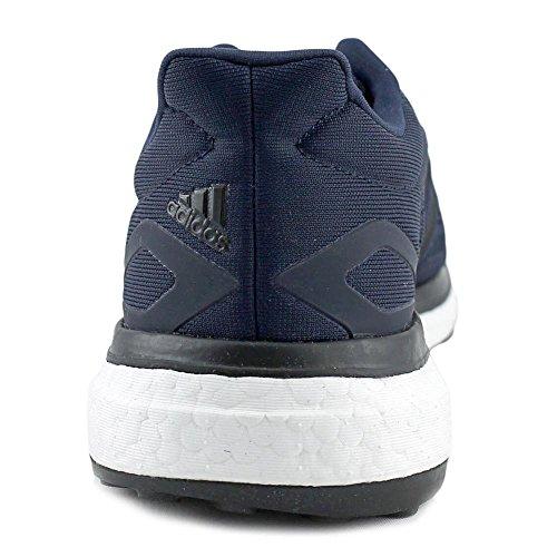 Adidas Response Dat Mannen Ronde Neus Synthetische Hardloopschoen Nightnavy / Coreblue / Mysteryblue