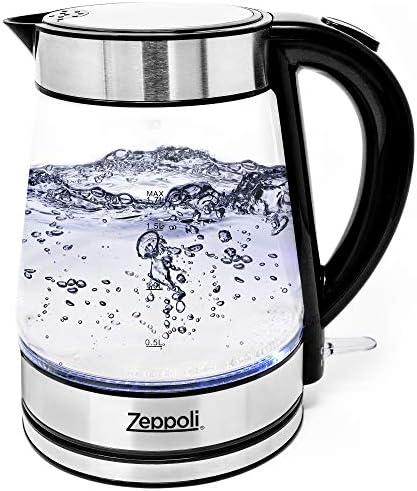 Zeppoli Electric Kettle Stainless Dispenser